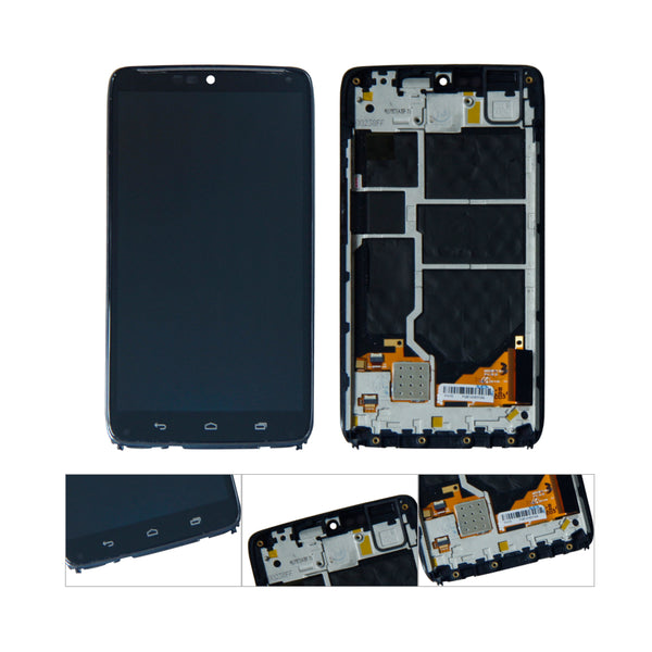For Moto Droid Turbo XT1254 XT1225 LCD Display Touch Screen Digitizer Assembly Replacement With Frame - Ebestparts Official Store