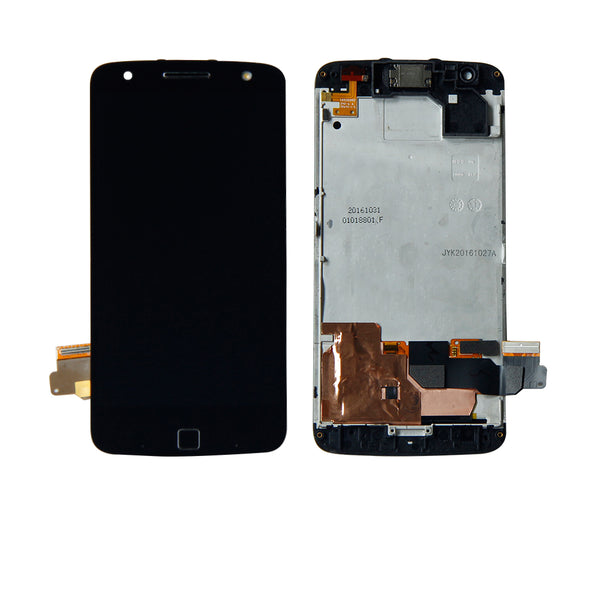 For Motorola Moto Z Force Droid XT-1650M Touch Screen Digitizer Lcd Display Assembly With Frame Panel Replacement - Ebestparts Official Store