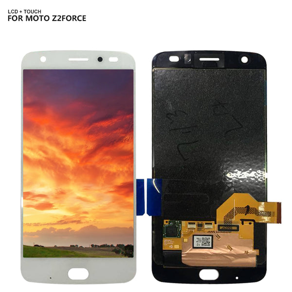 For Motorola Moto Z2 Force XT1789 Touch Screen Digitizer Lcd Display Assembly Replacement - Ebestparts Official Store