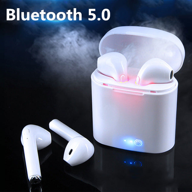 i7s TWS Mini Bluetooth Wireless Earphones Earbuds With Charging Box