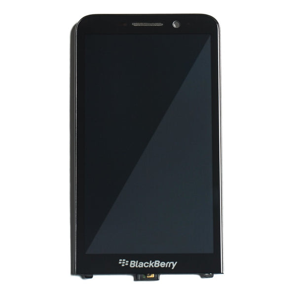 LCD and Digitizer Frame Assembly for BlackBerry Z30 - Black