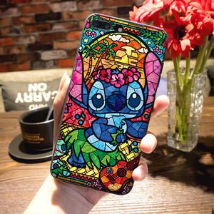 Pooh fairy tale stained Alice Mickey Mouse Luxury TPU Rubber Phone Case for iPhone 8 7 6 6S Plus X 5 5S SE XS XR XS MAX