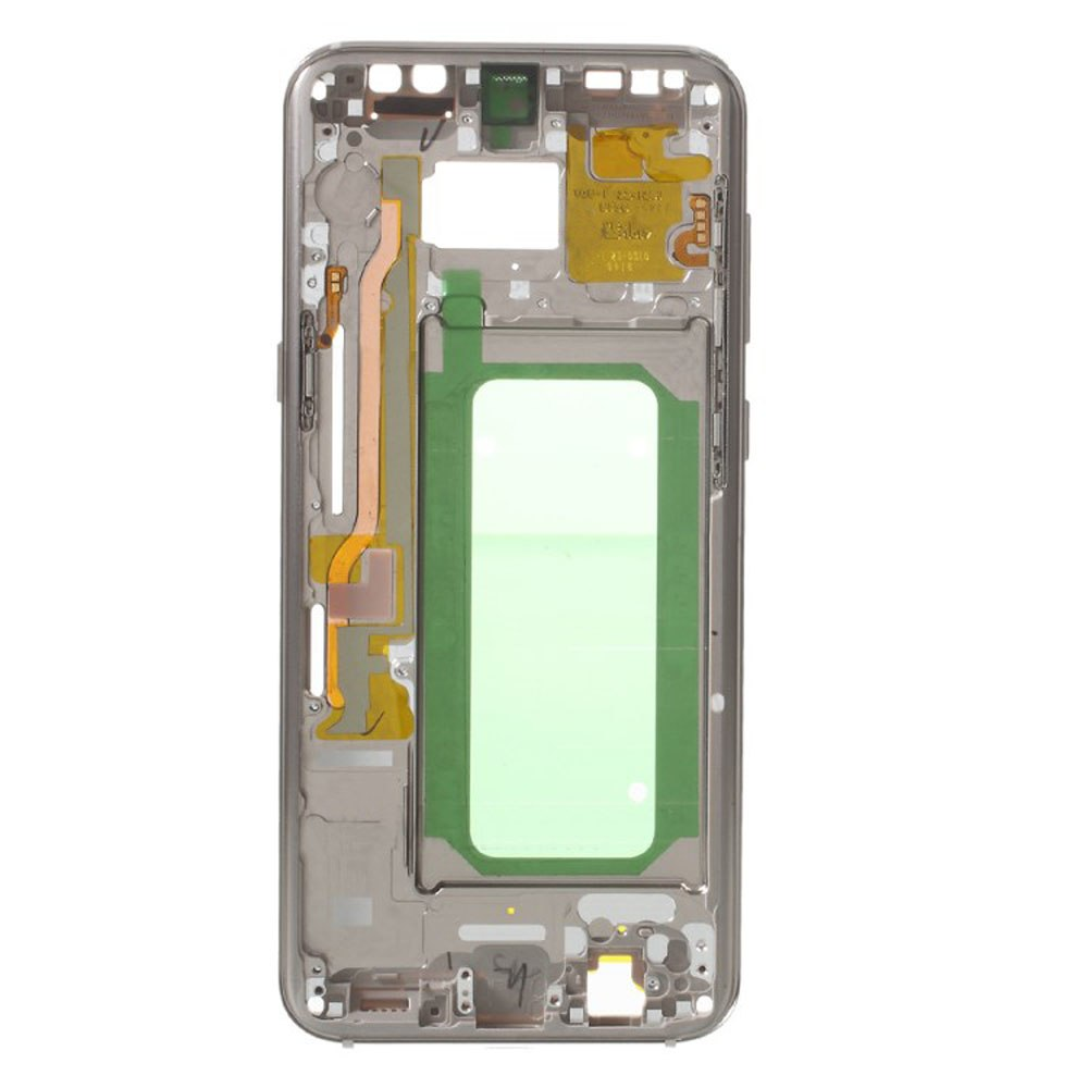 LCD Display Middle Frame Bezel Chassis Plate with Side Button For Samsung Galaxy S8+ S8 Plus G955 G955F