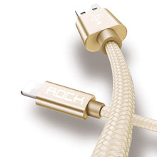 ROCK for iPhone Cable 2.1A Fast Charger Lighting USB Cables Charging Cord For iPhone iPad