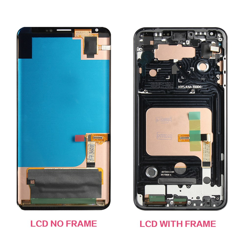 For LG V30 LCD Display with Touch Screen Digitizer with frame Assembly Replacement mobile phone lcd OLED display - Ebestparts Official Store