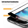3D Curved Hard edge Tempered Glass For iPhone 7 8 6 6s Glass Screen Protector On Full Cover Protective X 7 8 Plus For iPhone 6 6s Glass Plus