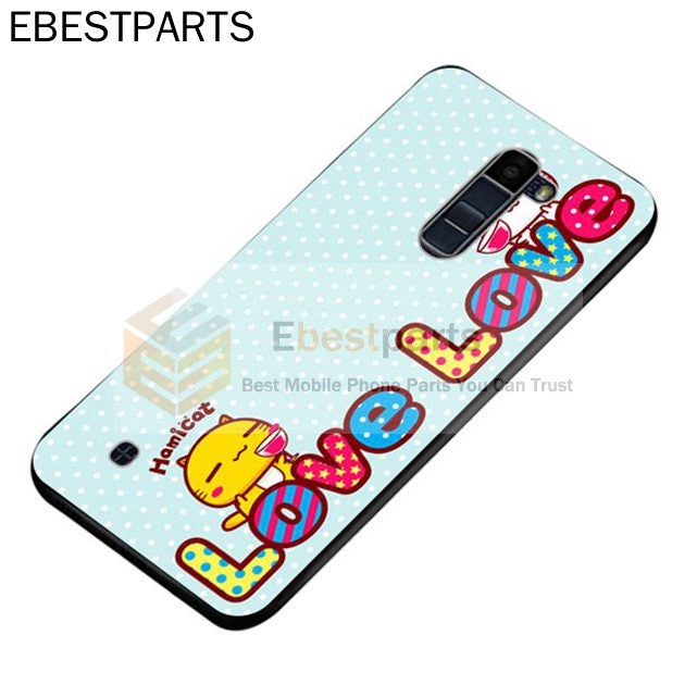 【EBP】【Factory Direct】 LG K4 K8 K10 G7 ThinQ 2016 2017 Hammy cat Silicon Case