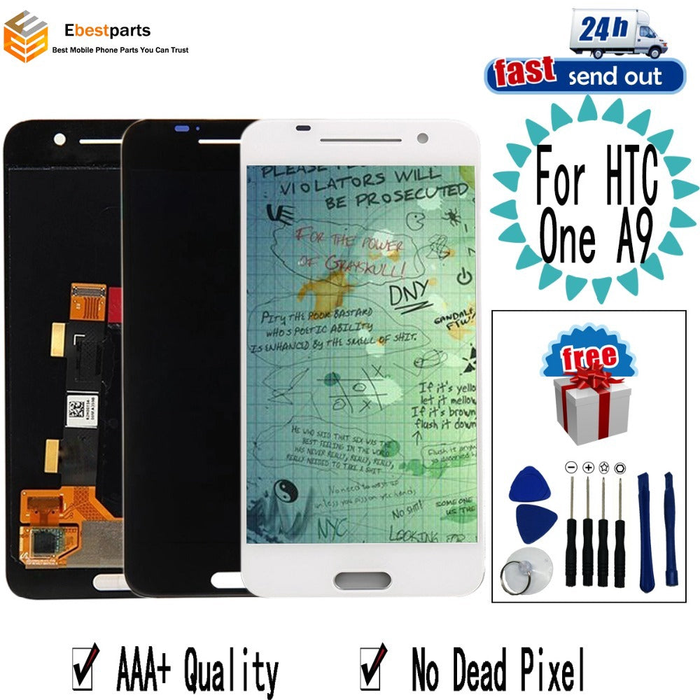 "5.0"" A9 LCD For For HTC One A9 Lcd Display Touch Screen Digitizer Assembly Replacement For HTC One A9"
