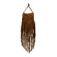 Fringe Leather Shoulder Bag