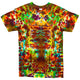 Earth Crackle Tie Dye T Shirt