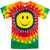 Smile Face Tie Dye T Shirt