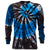 Cobalt Spiral Shooter Tie Dye Long Sleeve T Shirt