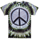 Camo Green Peace Tie Dye T Shirt