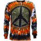 Redwood Peace Tie Dye Long Sleeve T Shirt