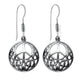Celtic Peace Sterling Silver Earrings