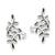Let It Grow Sterling Silver Ear Cuff