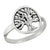 Rooted Tree of Life Sterling Silver Ring