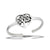 Tree of Love Sterling Silver Toe Ring