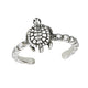 Turtle Sterling Silver Toe Ring