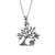 Tree of Luck Sterling Silver Necklace