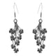Cascading Clover Sterling Silver Earrings