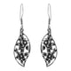 Flora and Fauna Sterling Silver Earrings