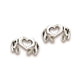 Hearts Sterling Silver Ear Cuffs