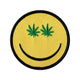 Weed Indeed Smiley Face Patch