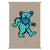 Grateful Dead Dancing Bear Tapestry