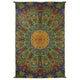 Kaleidoscopic Sunburst 3D Tapestry