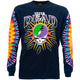 Grateful Dead Steal Your Lightning Tie Dye Long Sleeve T Shirt