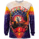 Grateful Dead Harvester Tie Dye Long Sleeve T Shirt