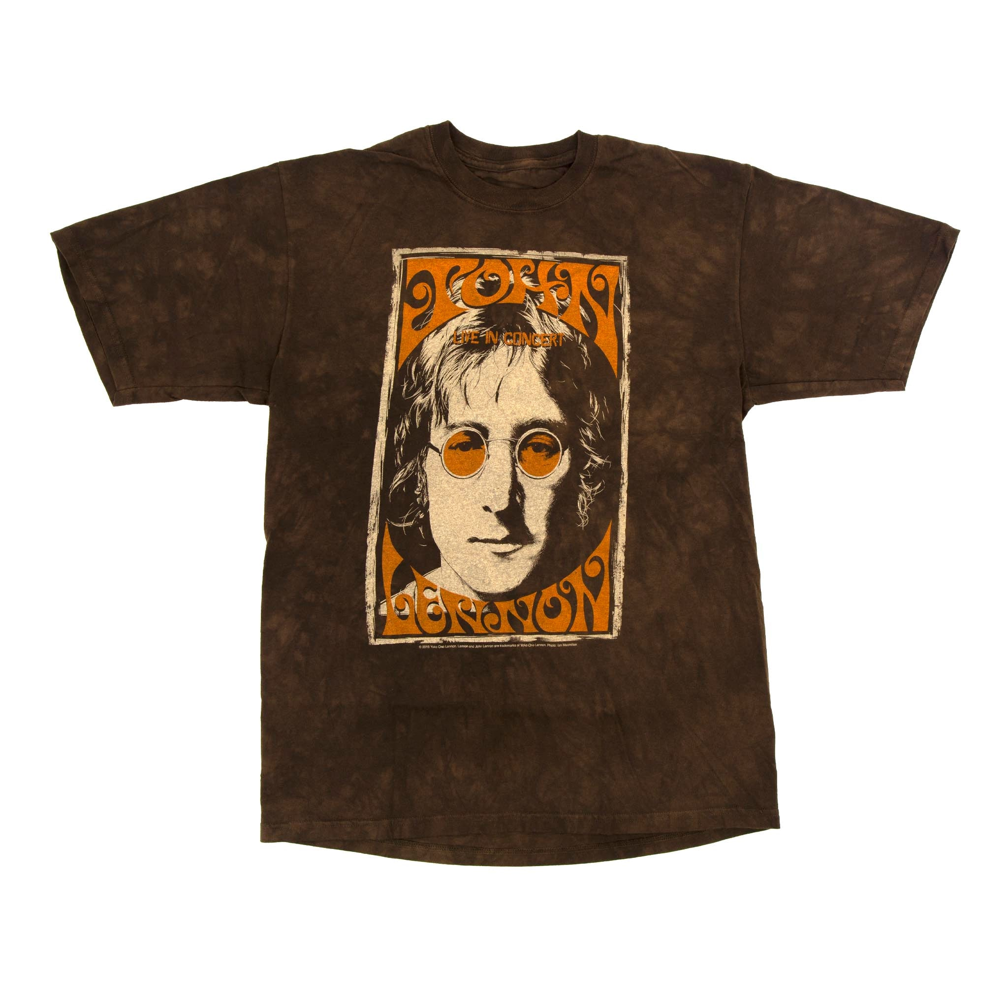 a9ff81eb HippieShop.com: John Lennon Live in NYC Tie Dye T Shirt on Sale for ...