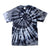 Black Smoke Exotic Spiral Tie Dye T Shirt