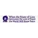 Jimi Hendrix Power of Love Bumper Sticker