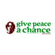 John Lennon Give Peace a Chance Bumper Sticker
