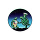 Grateful Dead Dancing Terrapin Mini Window Sticker