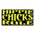 Hippie Chicks Rule Sticker