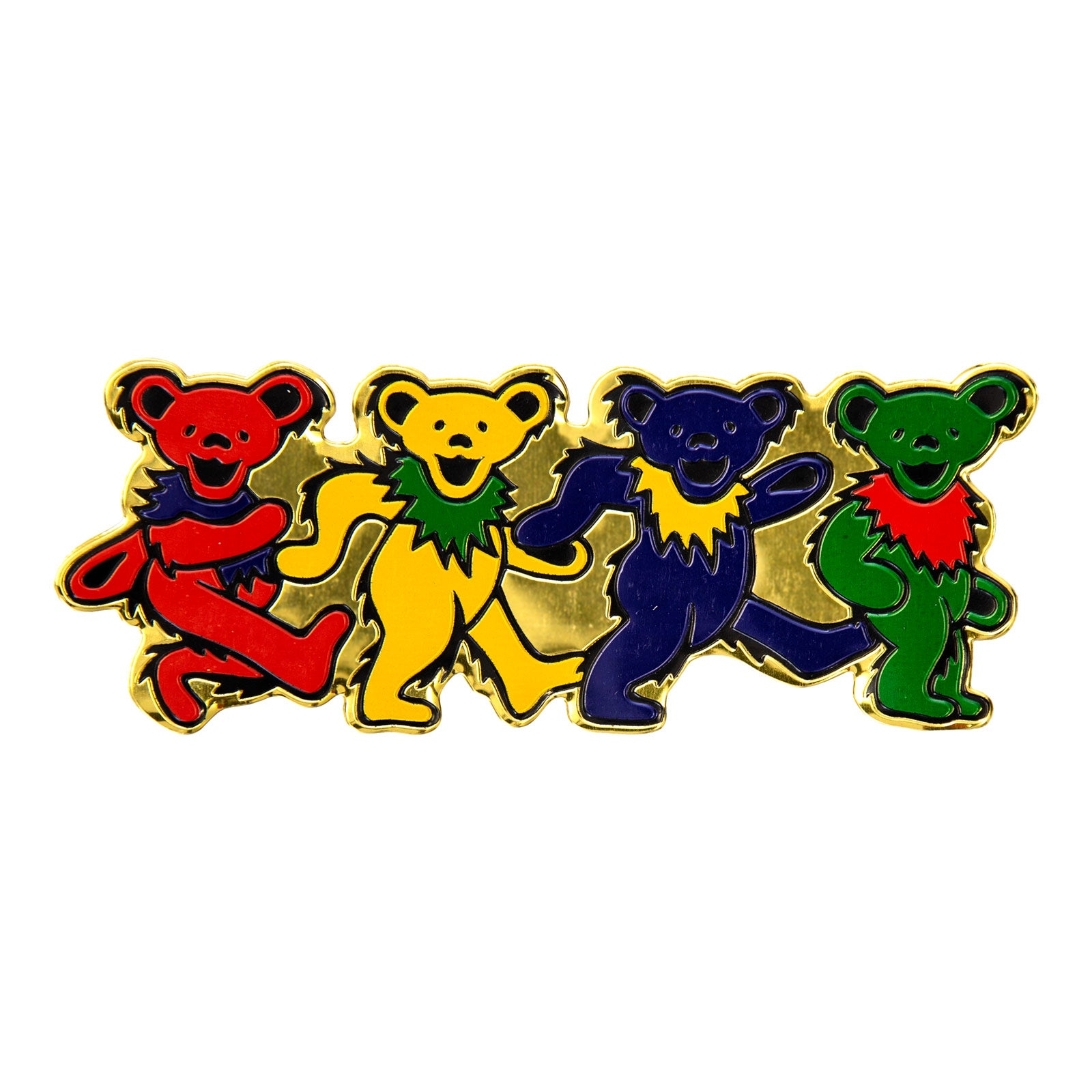 5 X 5 Premium Quality GI Grateful Dead Dancing Bear Decal Sticker Vinyl American Rock Band Decal