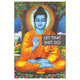 Let That Shit Go Buddha Poster