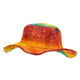 Rainbow Tie Dye Hemp Hat