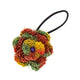Hemp Rainbow Flower Hair Tie