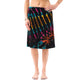 Tie Dye Mid Length Skirt