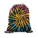 Santana Tie Dye Drawstring Backpack