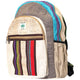 Earthly Essence Hemp and Patchwork Backpack
