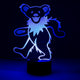Grateful Dead Dancing Bear LED Lamp