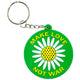 Make Love Not War Keychain