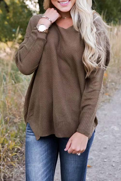 WenkWenk Casual Loose Sweaters