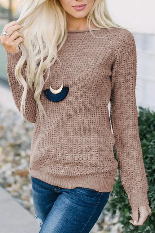 WenkWenk Casual Hollow-out Sweaters