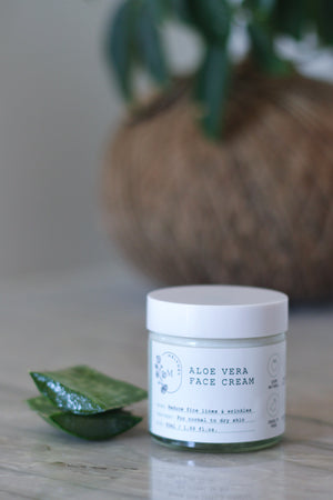 Aloe Vera Face Cream with Precious Frankincense